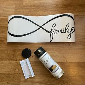 NWT Removable Family Infinity Vinyl Wall Sticker